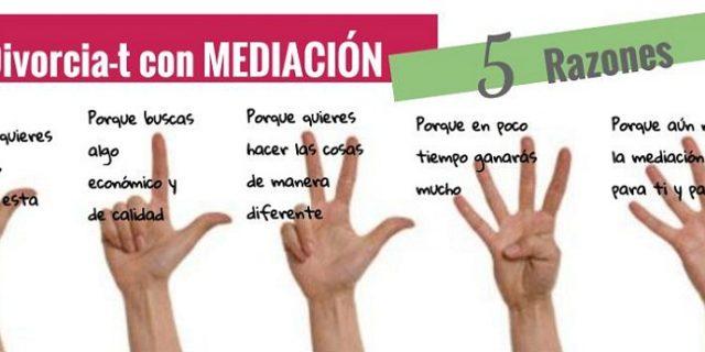 """Alquimia Mediación lanza para este otoño la Campaña """"5 Razones"""" dentro de su programa """"Divorciar-t con Mediación""""."""